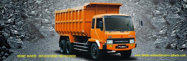 kredit mobil fuso dump truck 2020, kredit dp ringan fuso dump truck 2020