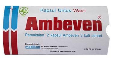 Harga Ambeven Terbaru 2017 Obat Hemoroid Wasir