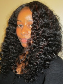 Satin Scarf Braid Out- Natural Hair Style Tutorial ...
