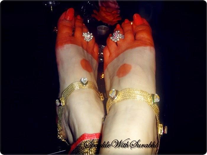 Aishwarya rai feet worship