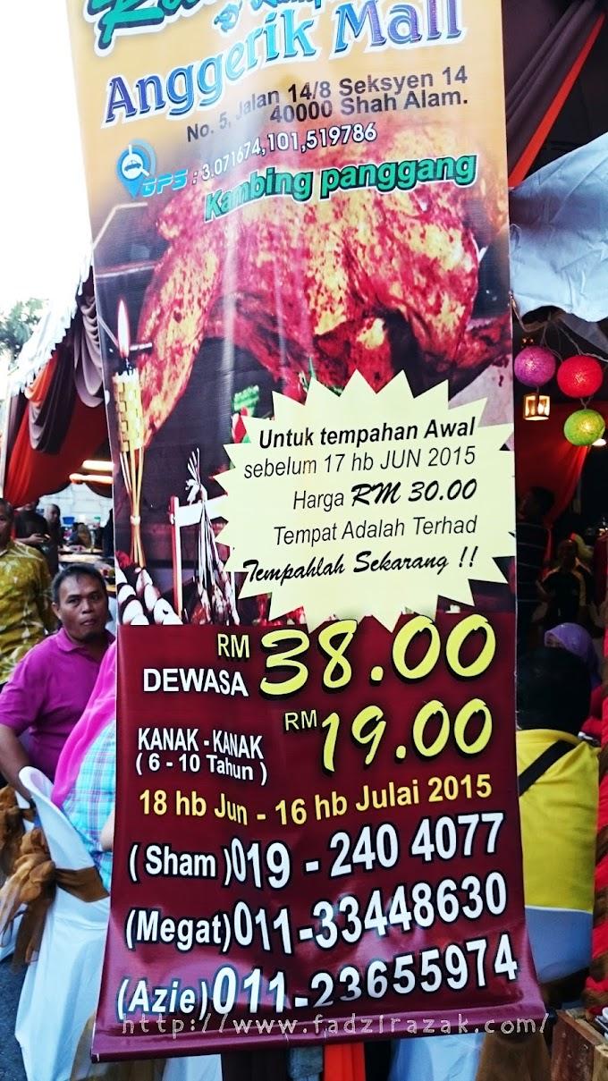 Buffet Ramadhan Kambing Golek Power Di Shah Alam!