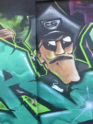 Graffiti Thalkirchen Polizist