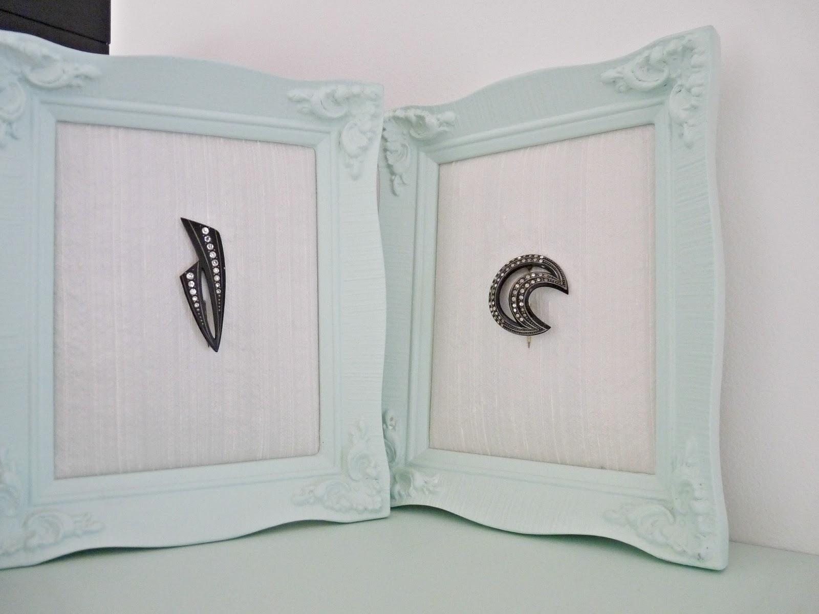 Craft ideas using vintage jewellery