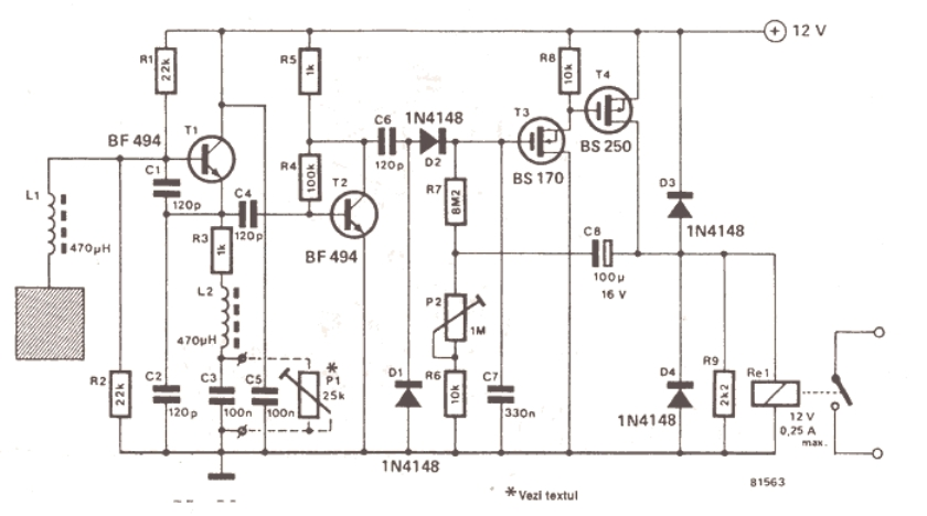 touch free faucet circuit