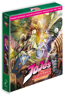 Reseña de JOJO'S BIZARRE ADVENTURE: Battle Tendency Blu-ray - SelectaVisión