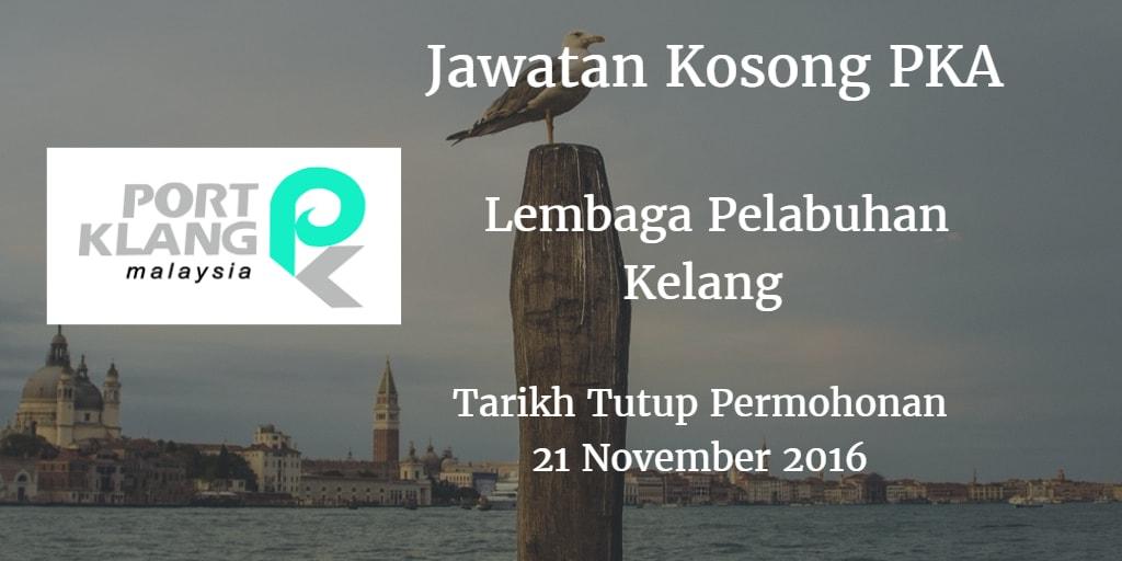 Jawatan Kosong PKA 21 November 2016