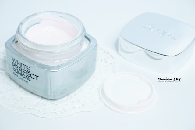 Color, texturex Scent   L'Oreal White Perfect Clinical Day Cream SPF 19 PA+++