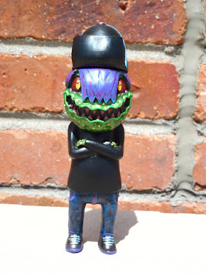 """Gak"" Kid Toxic Resin Figure by Blurble x Tru Slithers"
