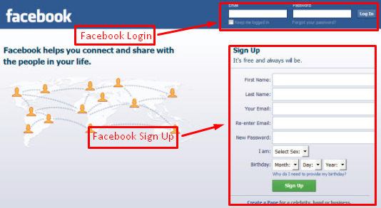 Sign To Facebook For Free