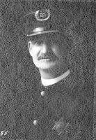 Officer John Kelly Stevens of the Fort Wayne Police Department during early 1900s