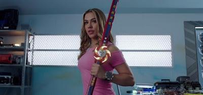 A atriz brasileira Chrysti Ane Lopes foi uma das heroínas da gringa Power Rangers Ninja Steel