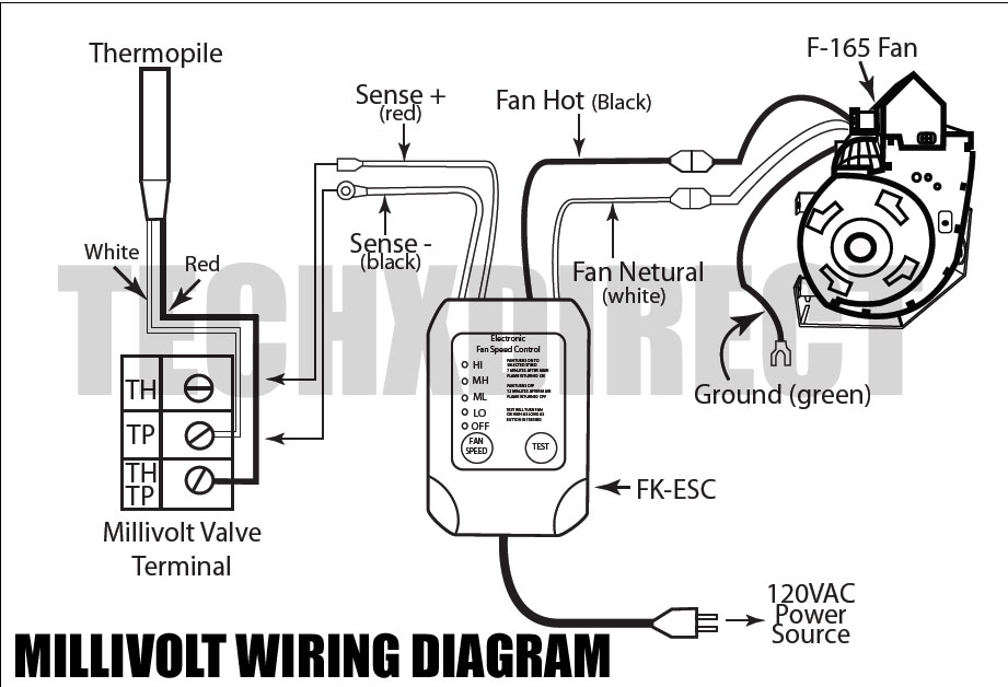 robertshaw gas valve wiring diagram