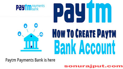 Paytm Payment Bank Account