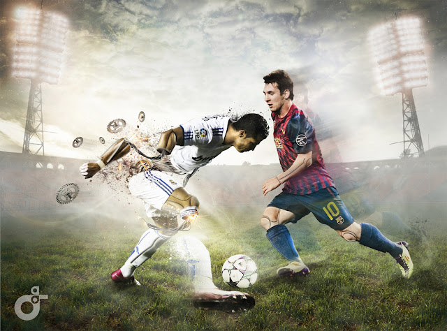 Ronaldo vs Messi HD Images