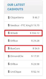 Bukti pembayaran BuxCure terbaru