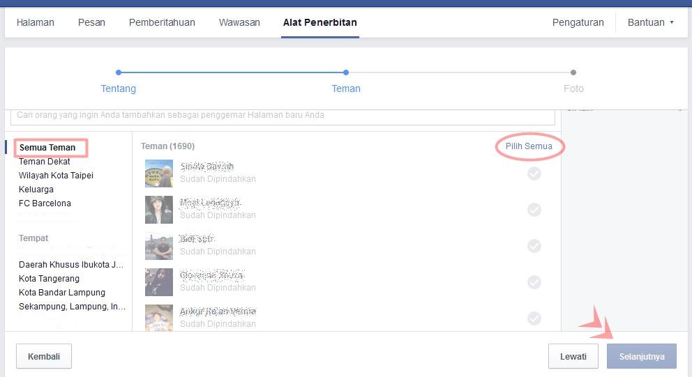 cara merubah akun facebook menjadi fans