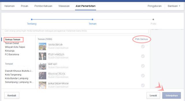 Merubah Akun Facebook Menjadi Fans Page