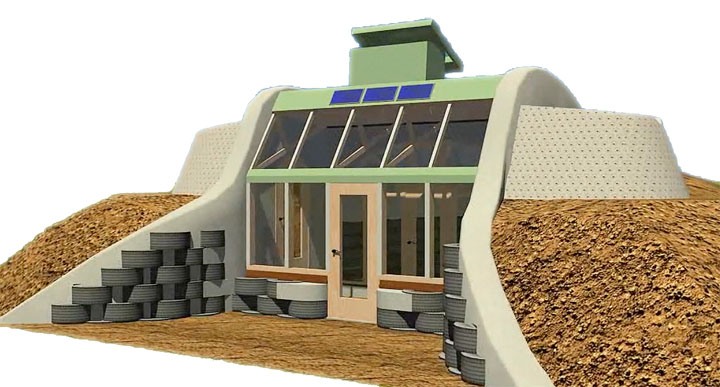 Service Learning UACHS: Earthship Simple Survival Concept