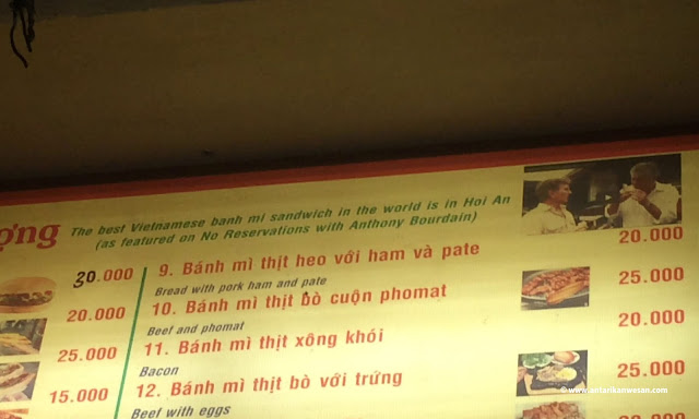 Banh My Phuong, Best Vietnamese Sandwich in the world, Vietnam, Hoi An