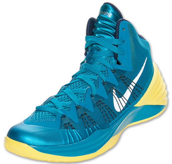 buy online 12b46 a99f0 Nike Hyperdunk 2013 Tropical Teal Midnight Navy-Wolf Grey