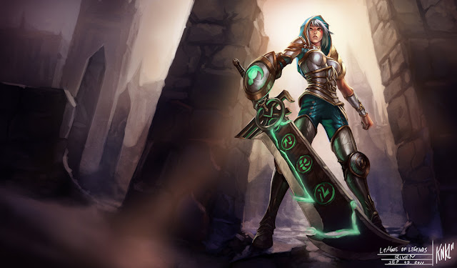 Mod Skin Redeemed Riven