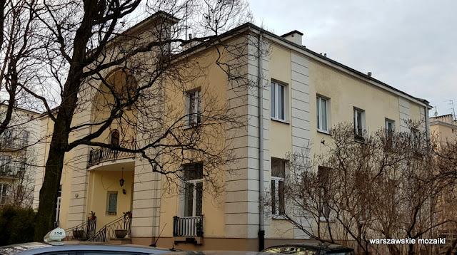 Warszawa Warsaw willa Antoniego Jaroszewicza 1927 architektura