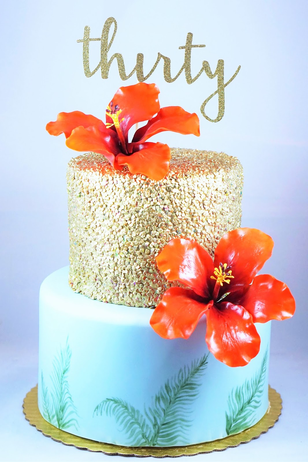Eves Fika Hawaiian Birthday Cake