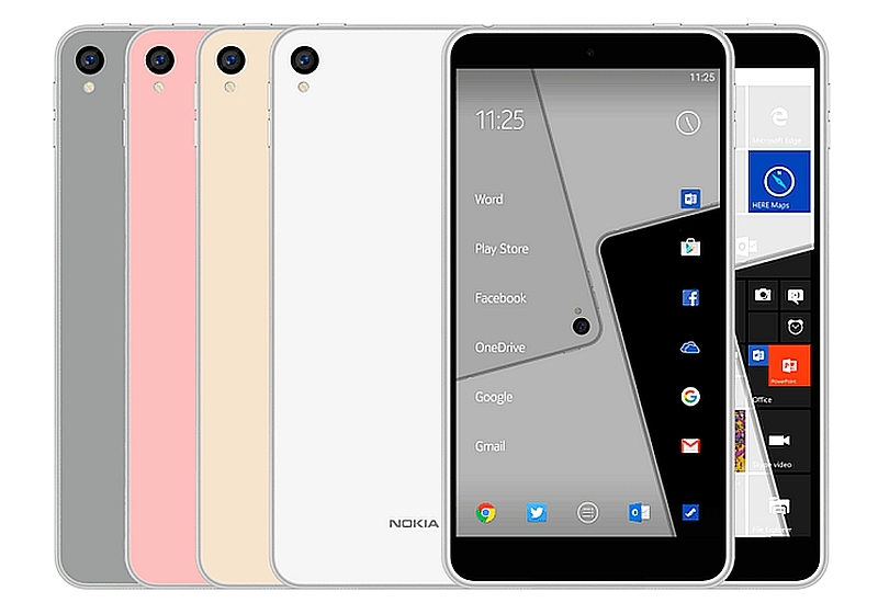 Nokia C1 Leak tips Started With android and Windows 10 Mobiles