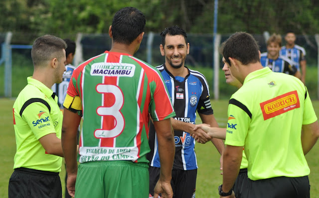 Gols de Grêmio Cachoeira e Paraíso