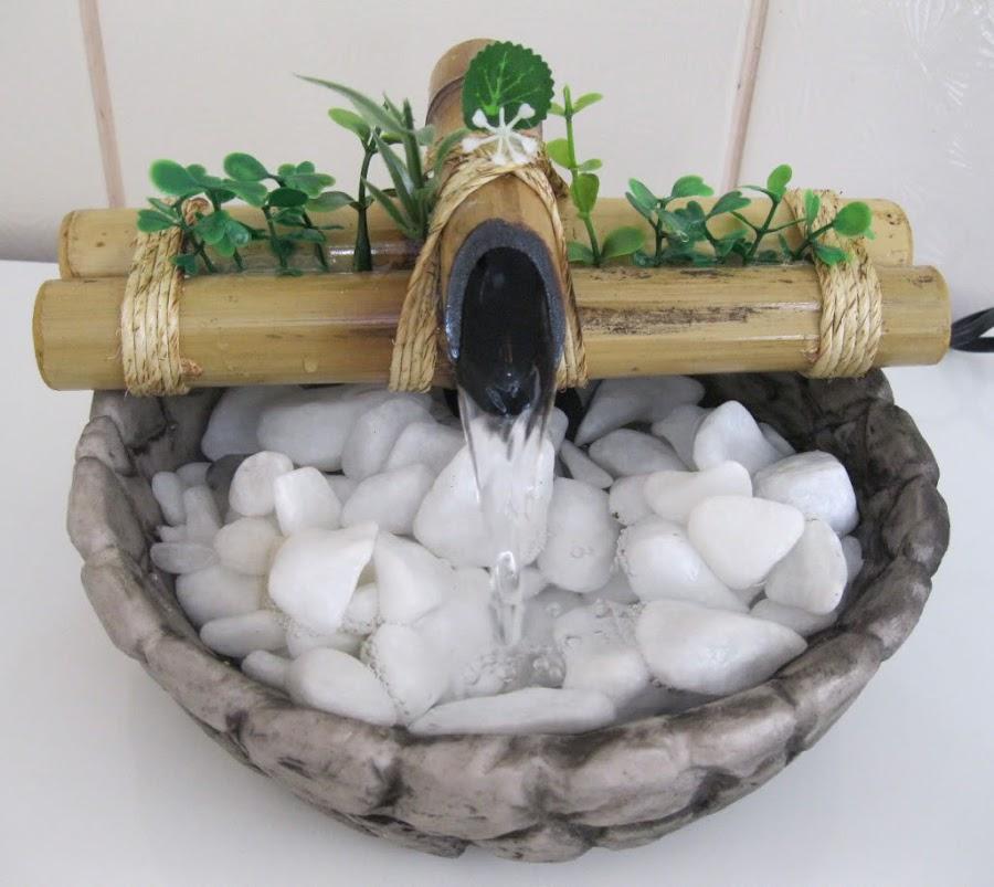 Para que una fuente sea eficaz debe contener 3 litros de agua como mínimo