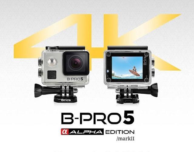 Spesifikasi Lengkap Action Cam B-PRO 5 ALPHA EDITION 4K