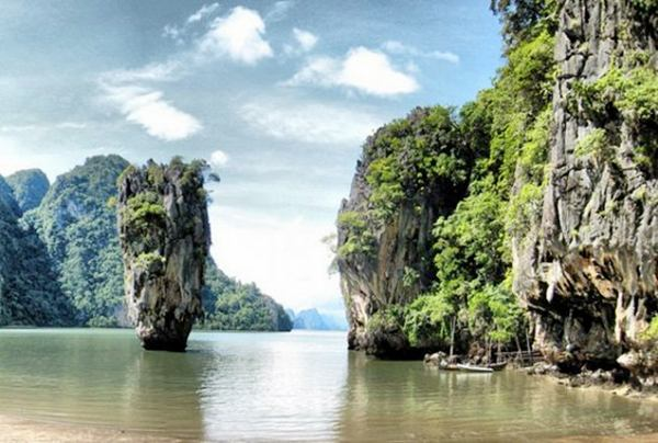 places thailand fantastic island phi lco rock formations pavan mickey amazing