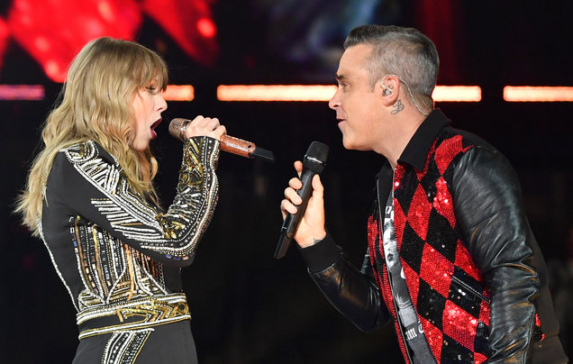 Video: Robbie Williams y Taylor Swift Angels - Angels