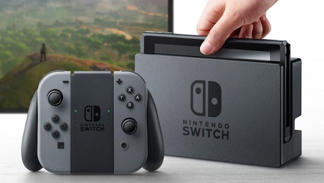 جهاز Nintendo Switch يحصل على تحديث جديد للنظام