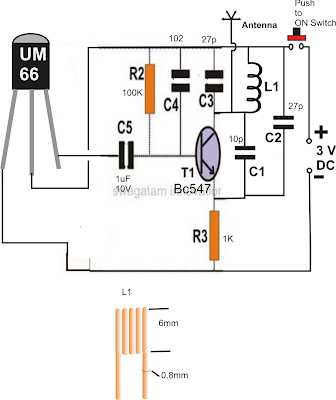 FM Remote Control Circuit Using a FM Radio ~ Electronic