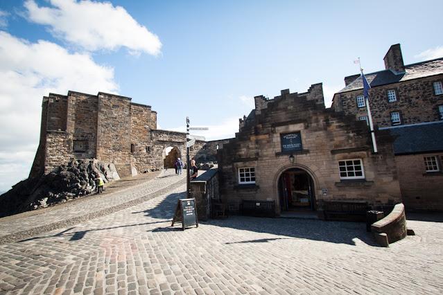 Vista dal Castello-Edimburgo