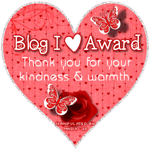 Blog I Love Award
