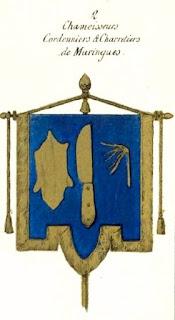 Blason des Charretiers de Maringues, Auvergne.