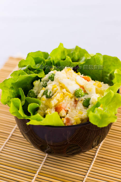 Japanese Egg and Mashed Potato Salad01
