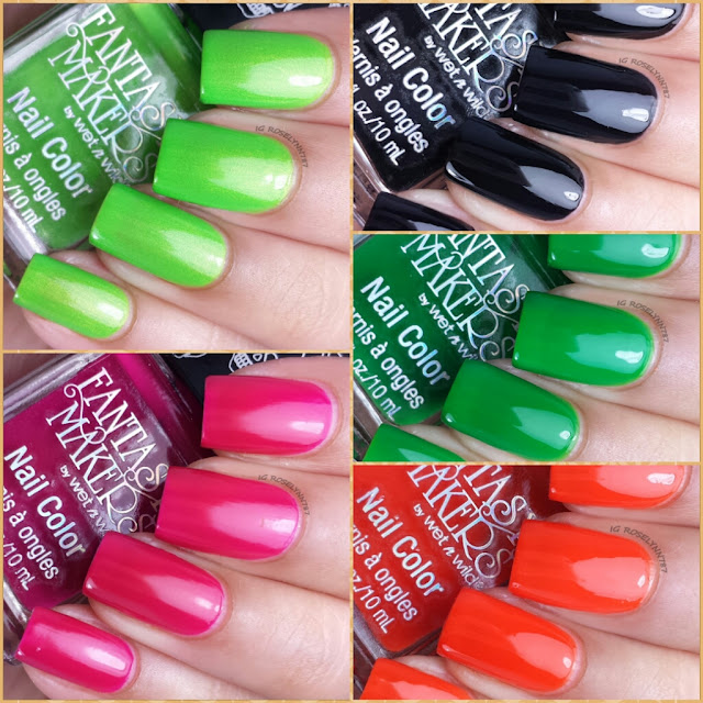 Fantasy Makers - Wet n Wild Polishes - Halloween 2014