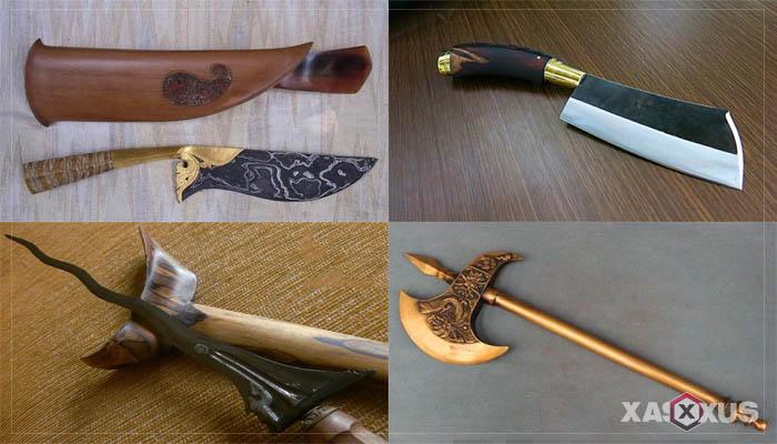 11 Senjata Tradisional Bali Beserta Gambar, Nama, Fungsi, Jenis, dan Penjelasannya