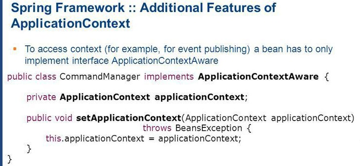 ApplicationContextAware in Spring