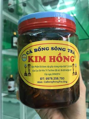 Tuyệt vời món cá bống sông Trà kho tiêu Quảng Ngãi