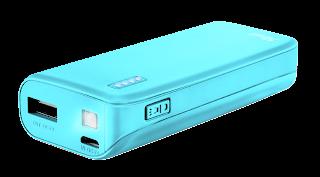 trust caricabatterie powerbank 22057