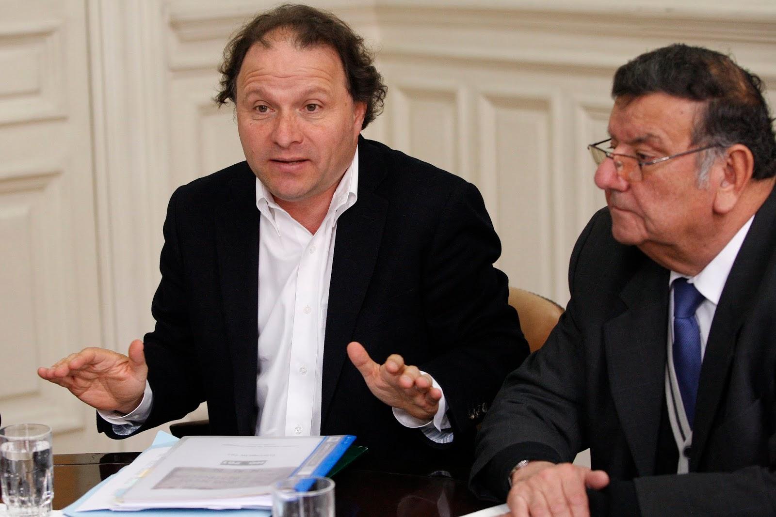 EL OSORNINO: Alfonso De Urresti y Rabindranath Quinteros: Senadores ...