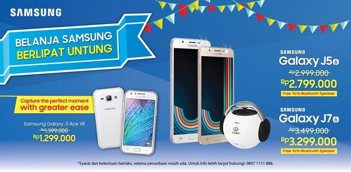 Promo Akhir Tahun 2016 Samsung Galaxy