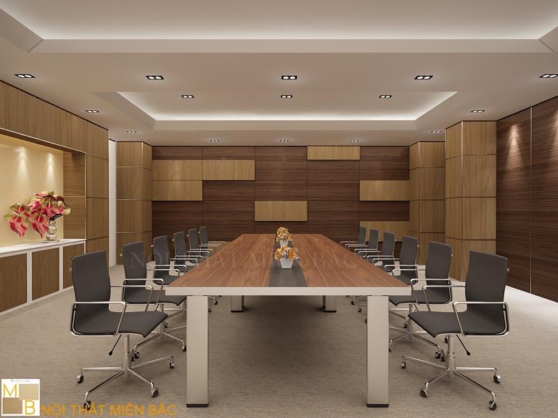 Thiết kế nội thất phòng họp đẹp cho không gian nhỏ