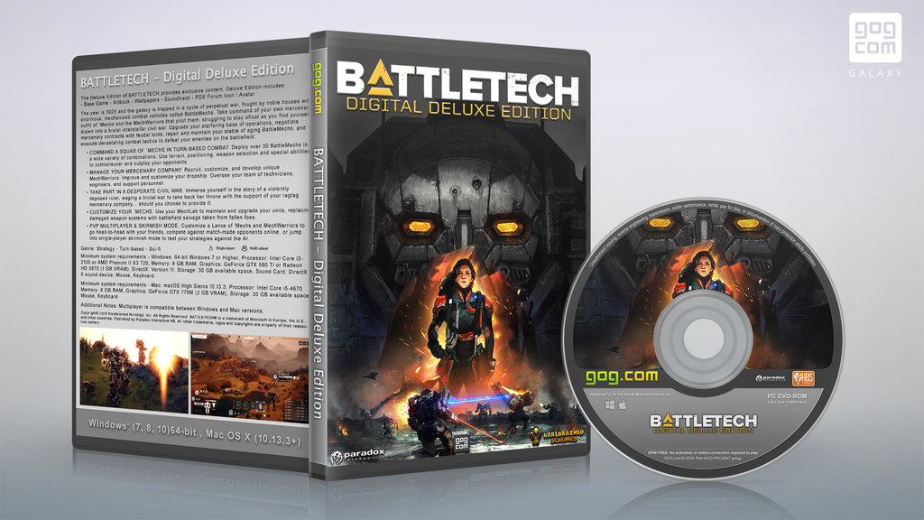 WELCOME TO SPYWARE PC SHOP: BattleTech-GOG