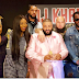 Tiwa Savage poses with P. Diddy, DJ Khaled and Emeli Sande in LA ahead of the Grammys