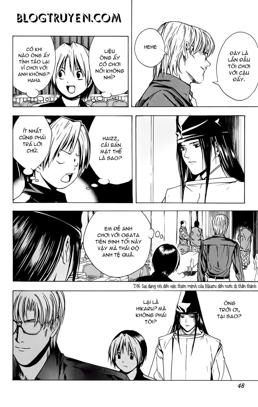 Hikaru No Go hikaru no go chap 123 trang 21